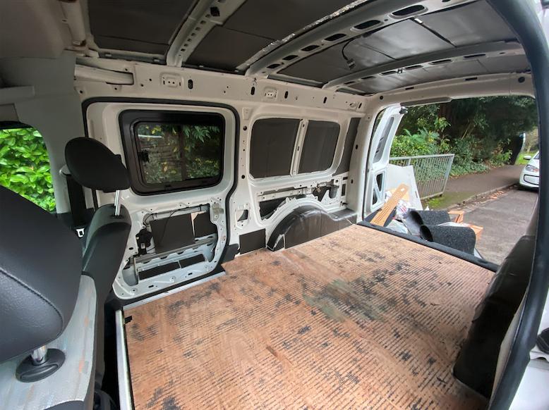 sound deadening van