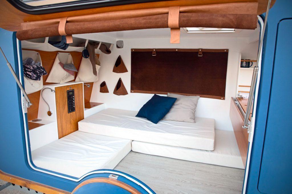 carapate trailer interior