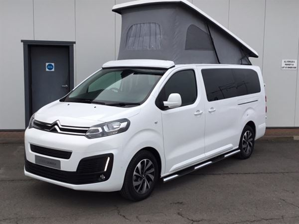 citroen dispatch small camper van