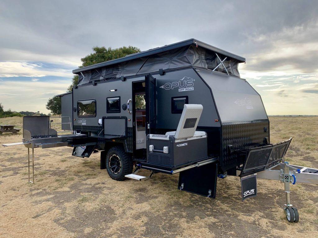 Opus travel trailers