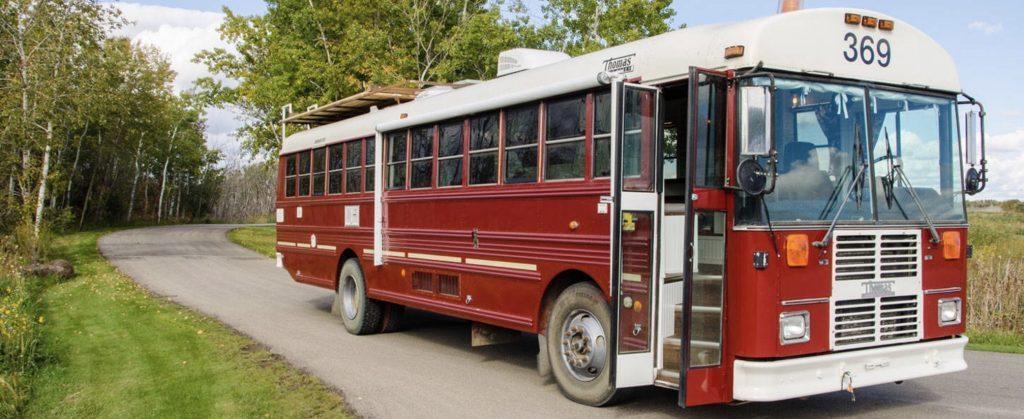 Best RV - Exterior of school bus conversion