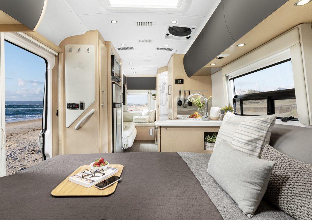 Interior of Serenity camper