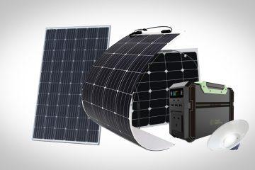 best camper van solar panels