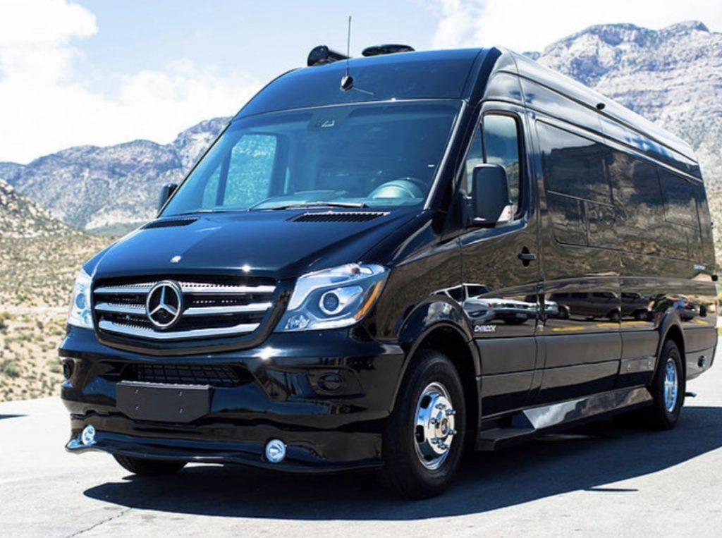 Best Adventure Vans - exterior of Chinook Countryside