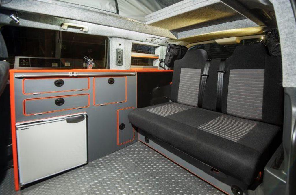 Interior of Mitsubishi 4WD Terrain