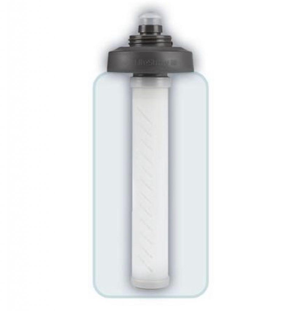 best RV accessories - Lifestraw water filter water bottle