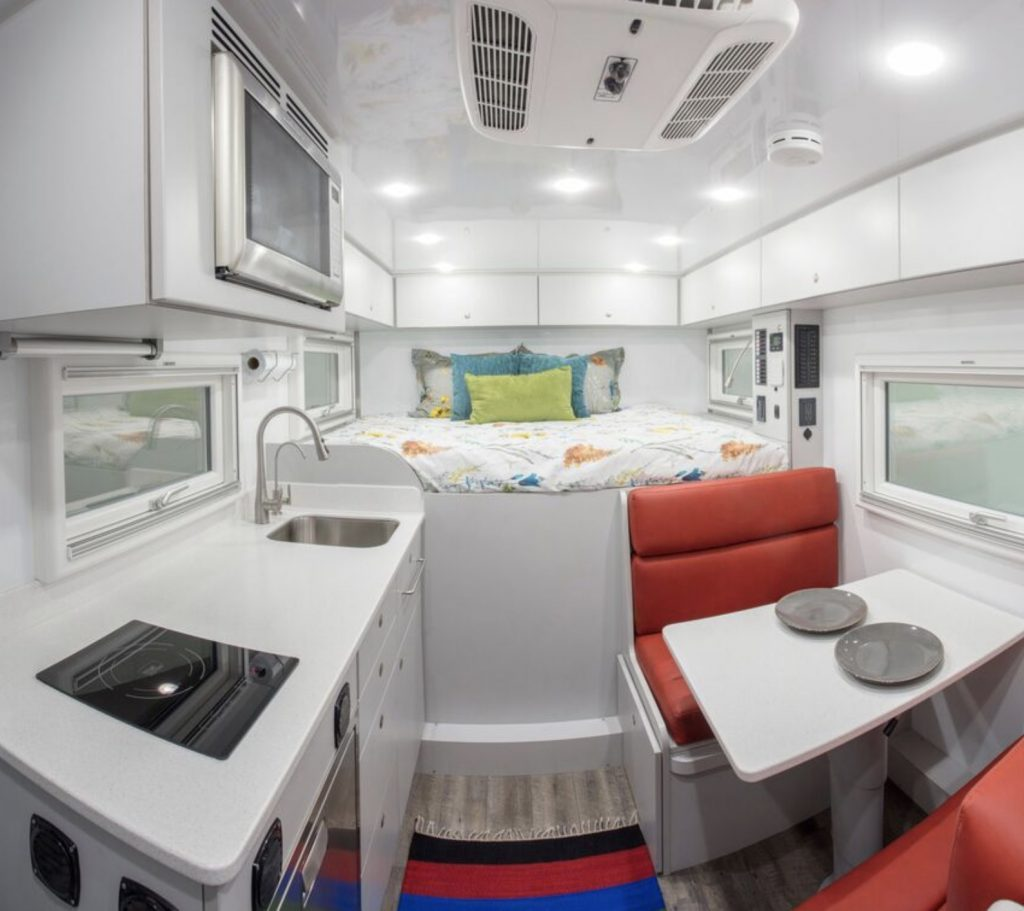 global expedition truck interior