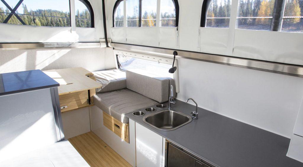 EarthCruiser EXD interior.