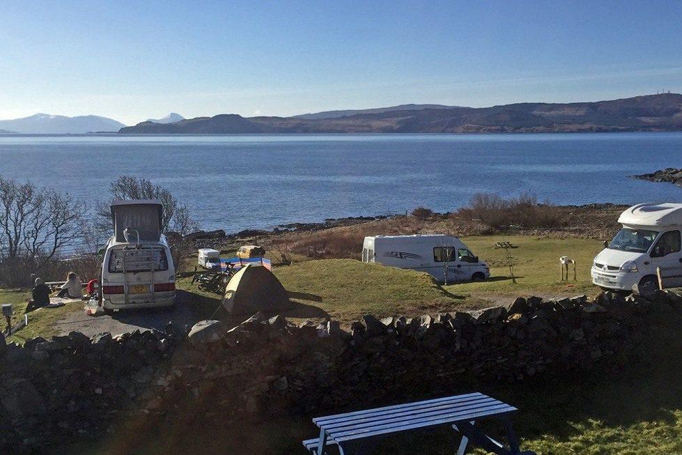 Best Campervan Campsites UK Scottish campground
