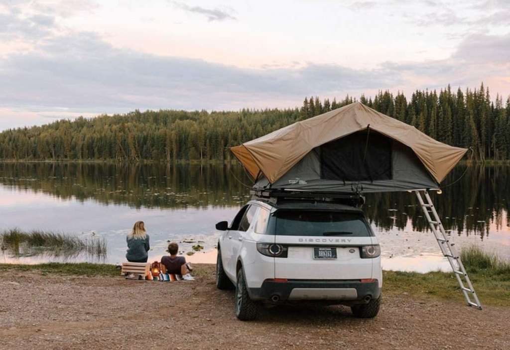 Front Runner pop up tent rooftop tent - olive