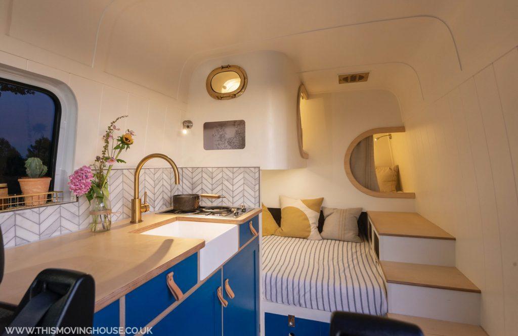 Campervan bed - kids pods