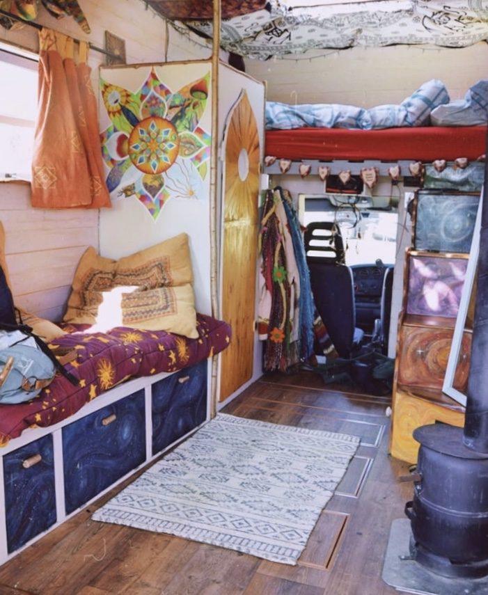 Campervan bed - over cab bed