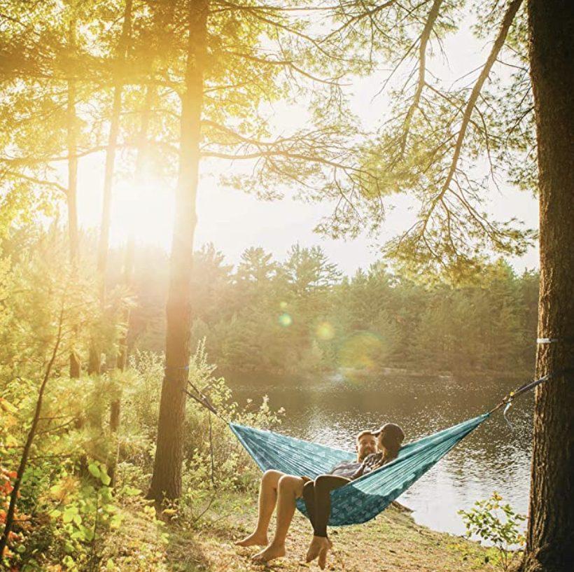 Accessories for vanlifers- hammock in trees