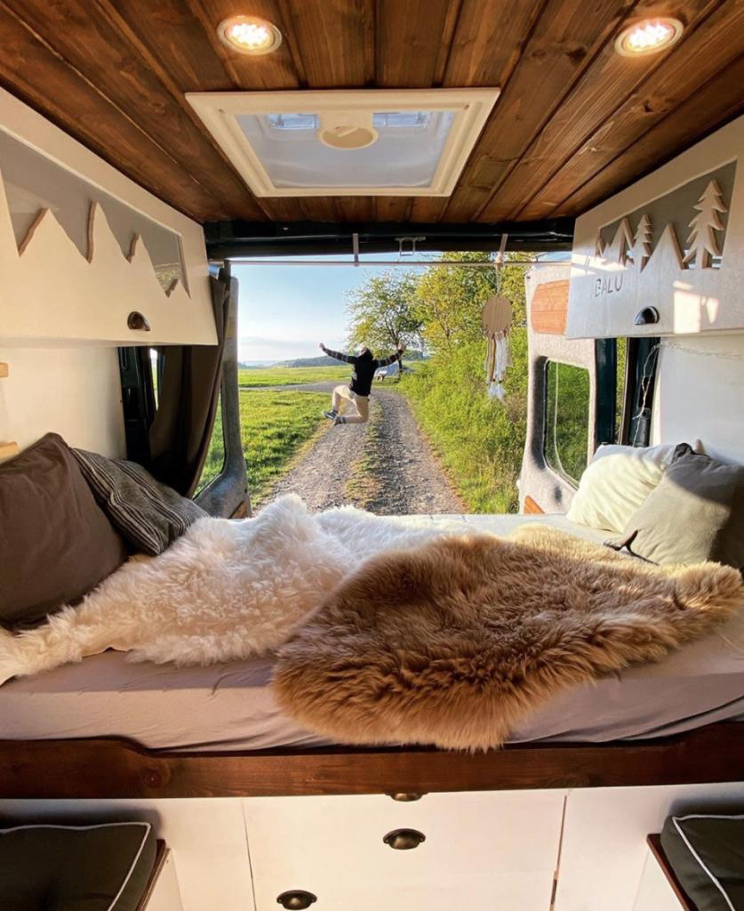 Sprinter Vs Transit - Inside a Transit camper