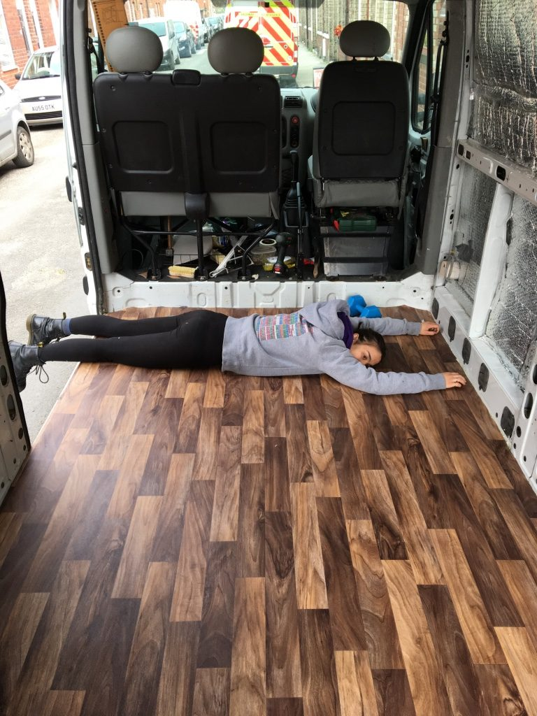 van build mistakes - make sure you insulate your floor properly