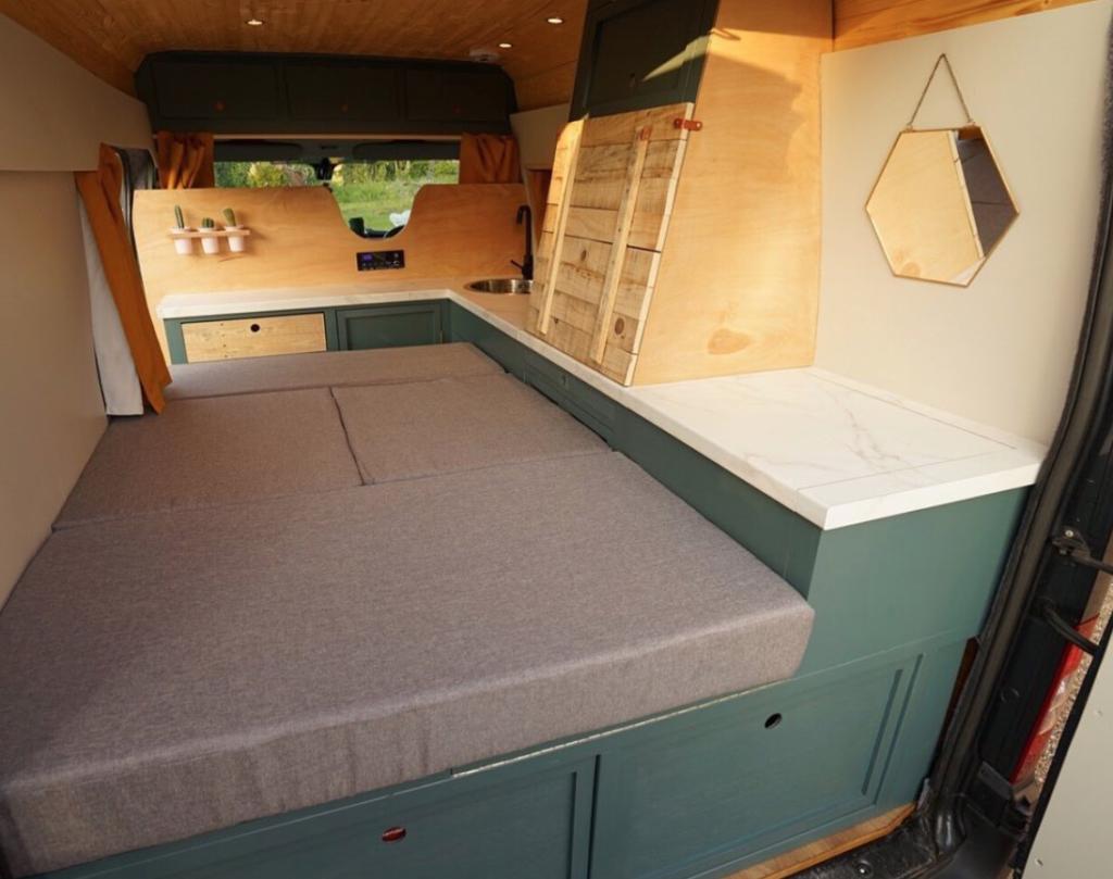 Van Life Hacks - Sofa Bed