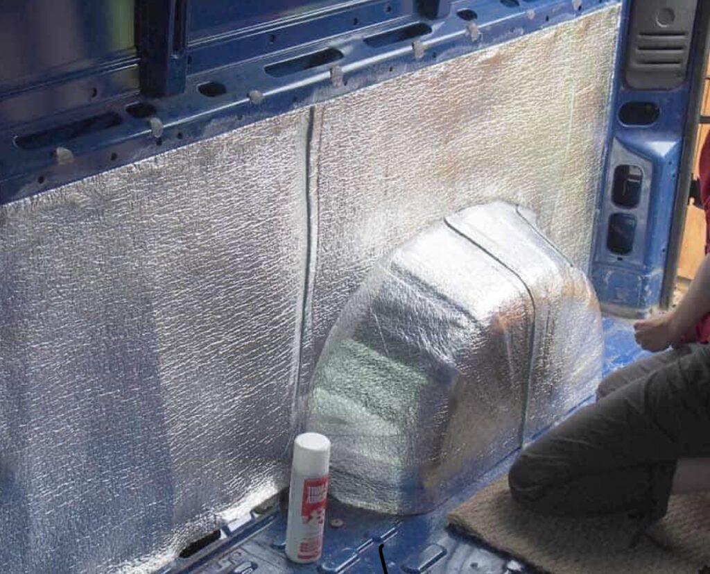 Van insulation - foil insulation