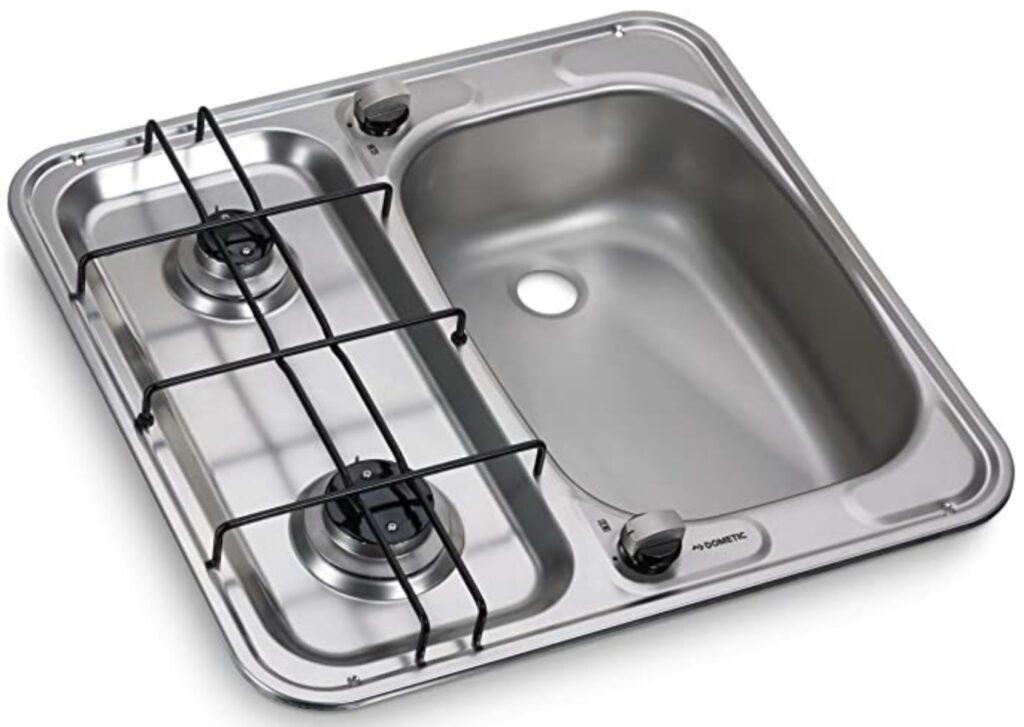 Sink and hob unit