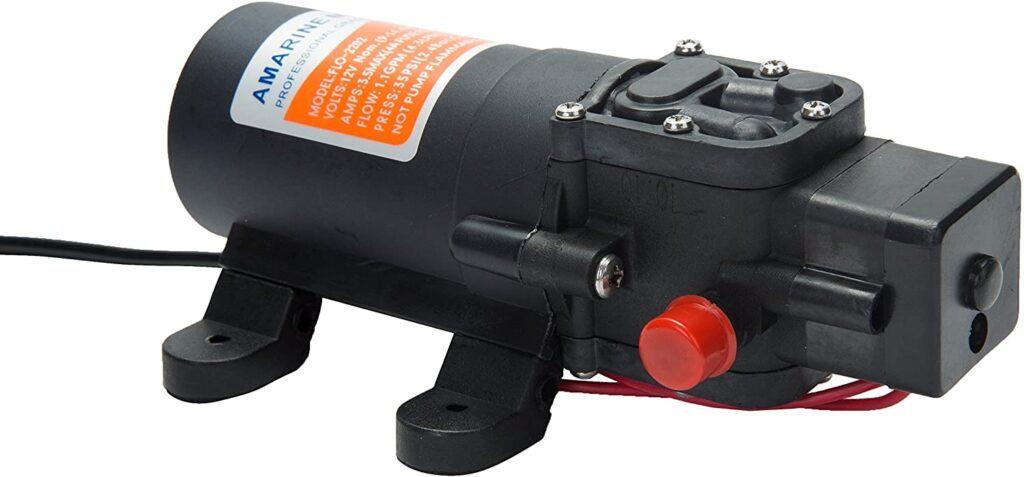 Best Camper Van Water Pumps - Amarine Water Pump
