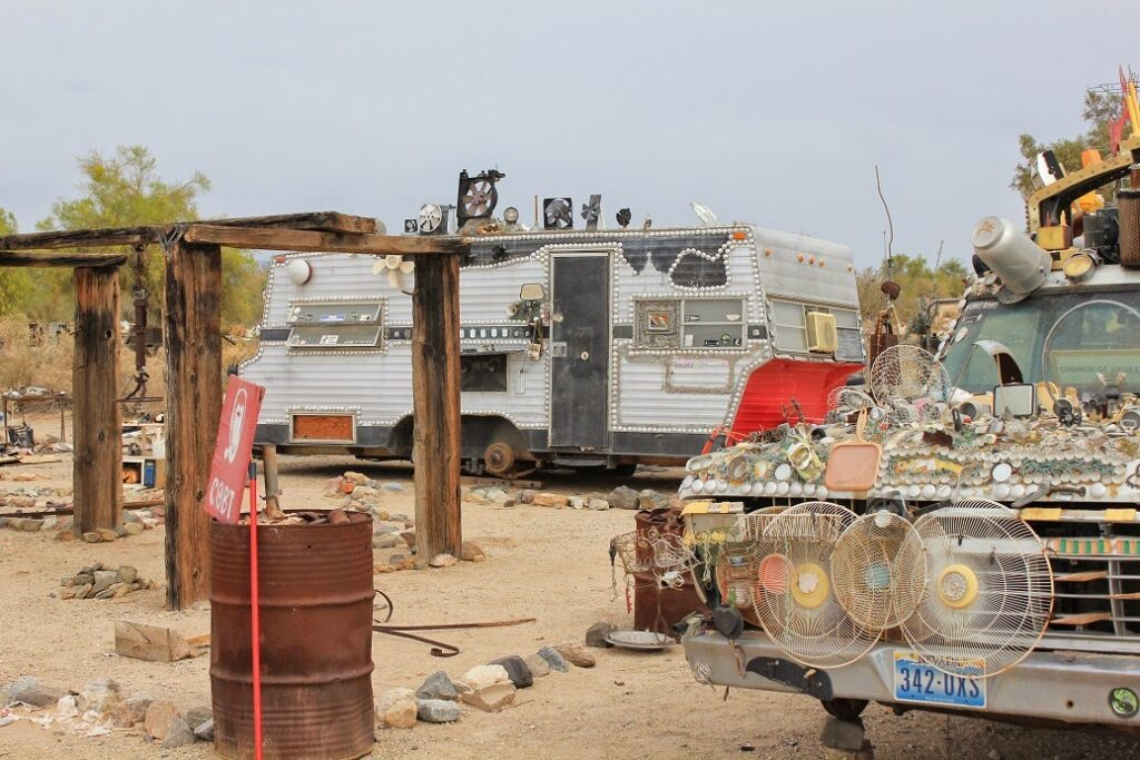 Slab City Campervan parking