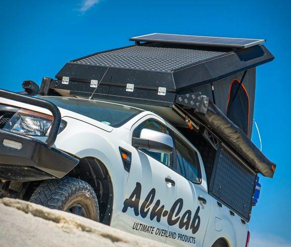 Pop Top Truck Camper - Alu-Cab branding