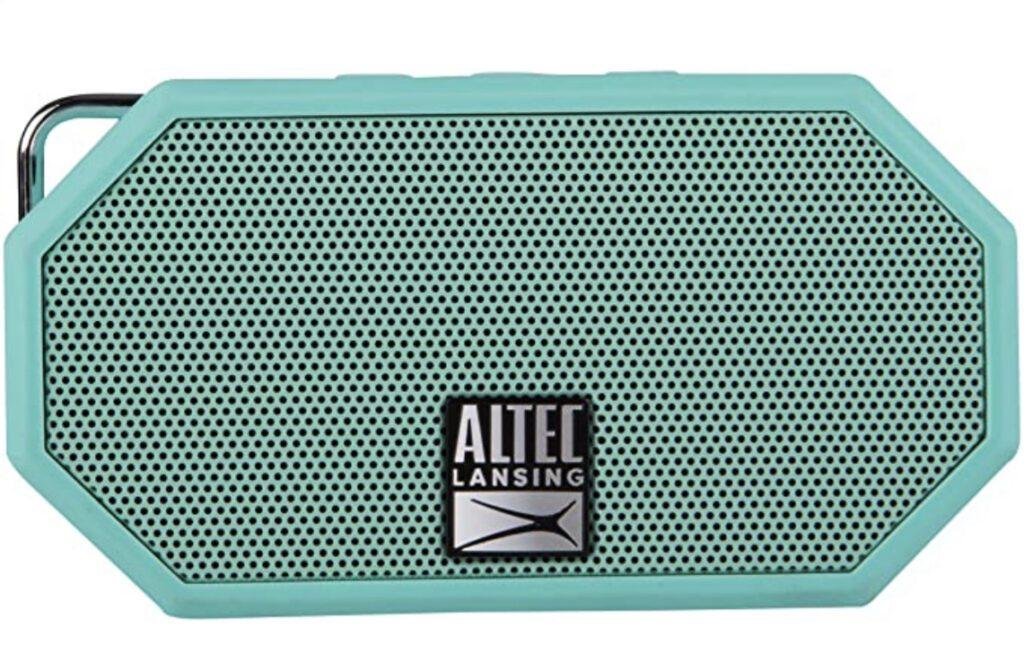 Portable speakers - green altec Lansing