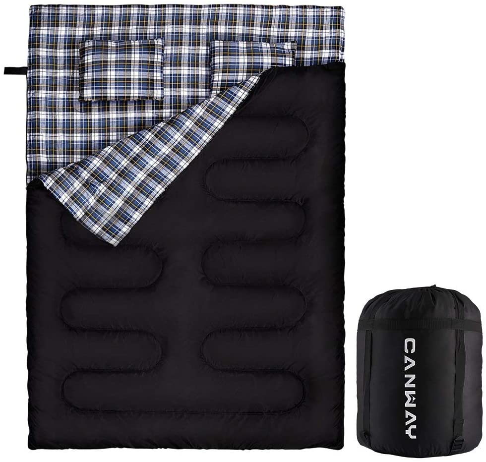Canway Flannel lined sleeping bag