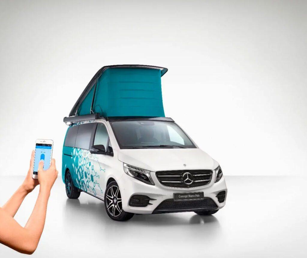 Concept Marco Polo pop top campervan