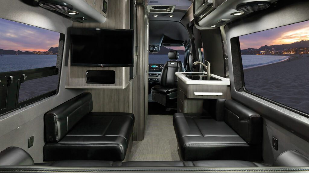 Inside the Airstream Interstate