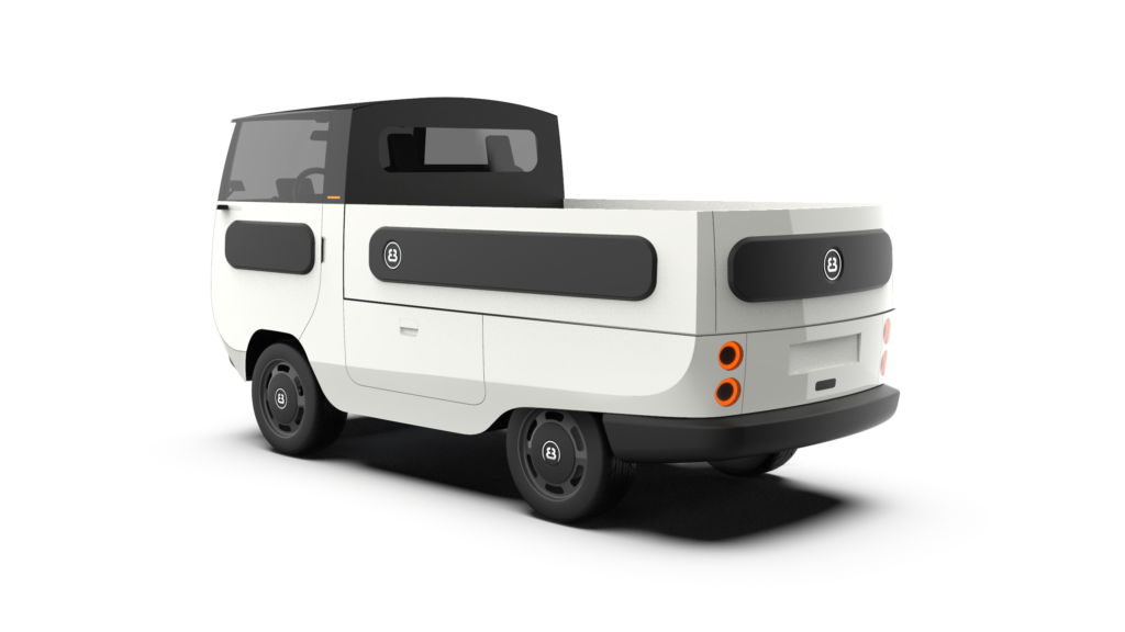 eBussy electric camper van - The pick up