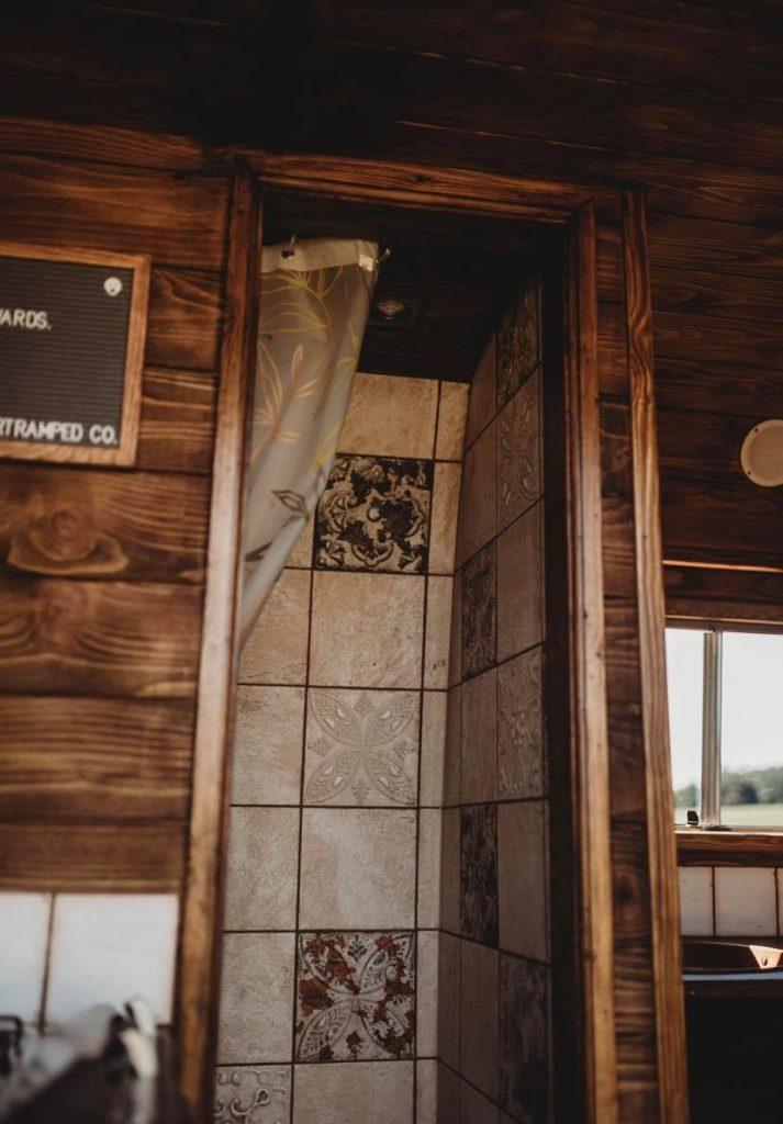 Faith – custom build camper – bathroom