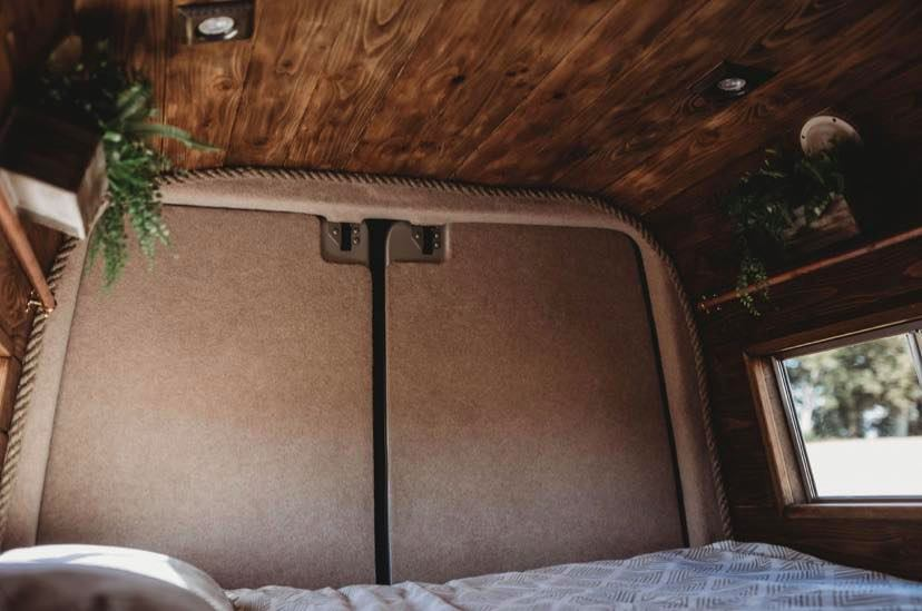 Faith – custom build camper – bedroom area