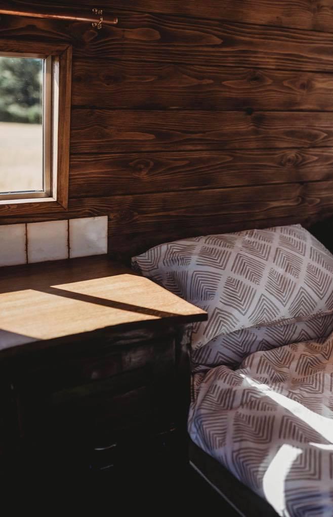 Faith – custom build camper – bedroom