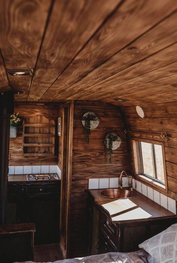 Faith - custom build camper - interior