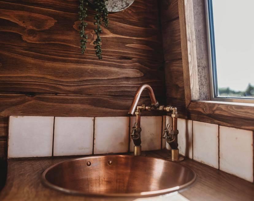 Faith – custom build camper kitchen area