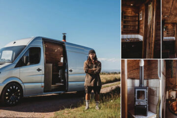 Faith - the Sprinter custom built campervan