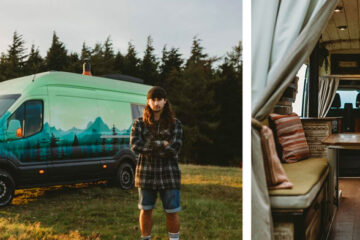 Rumi - handcrafted campervan conversion