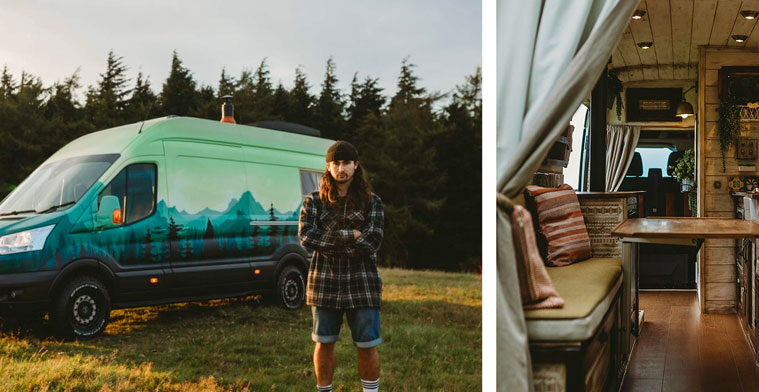 Rumi - handcrafted campervan conversion