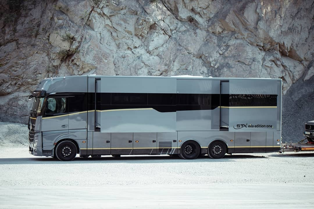 A beautifully designed Motorhome built for Luxury Adventure