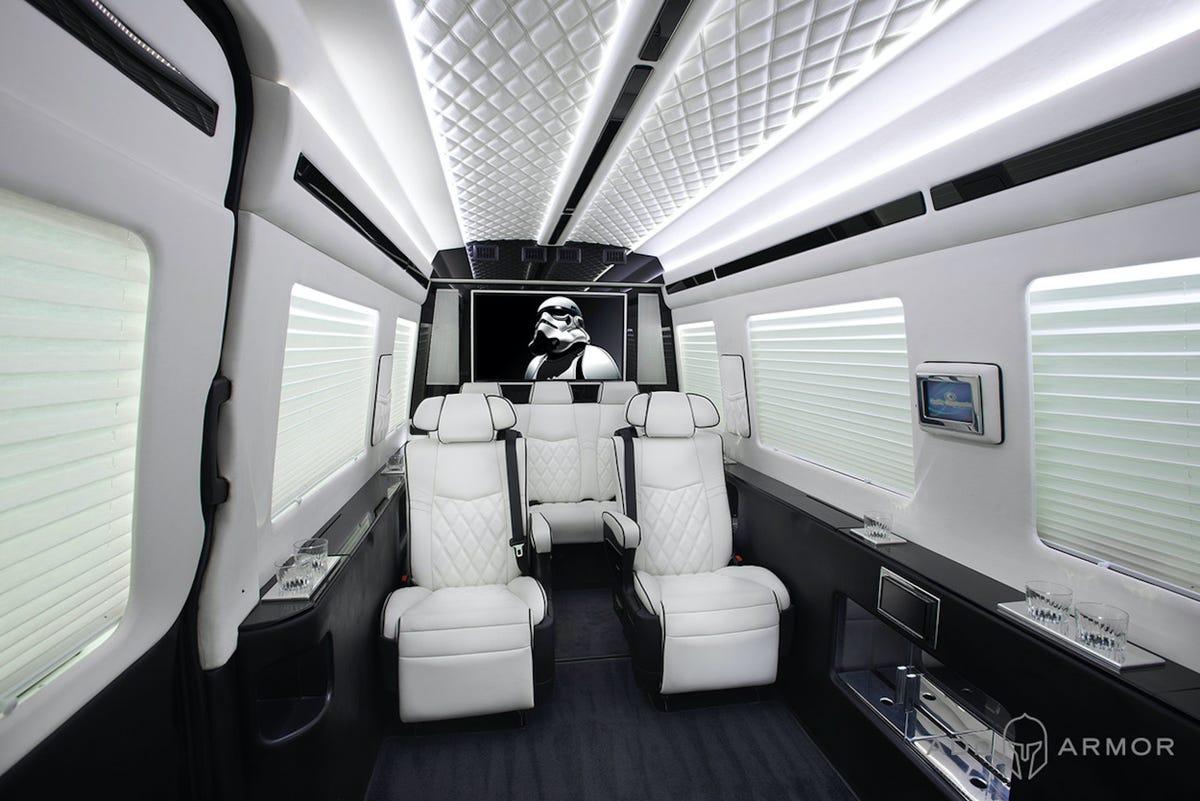 VIP AddArmor Treatement Sprinter vanlife safety