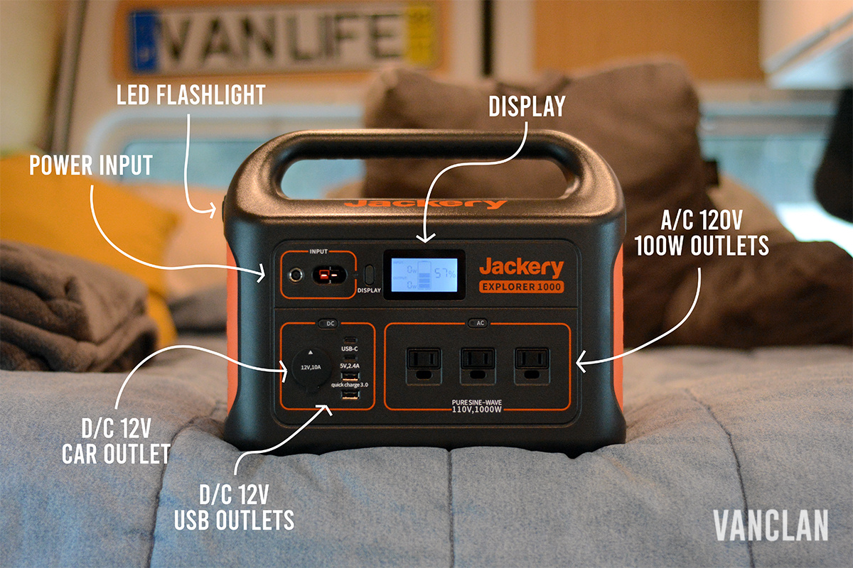 Jackery Explorer 1000 Graphic