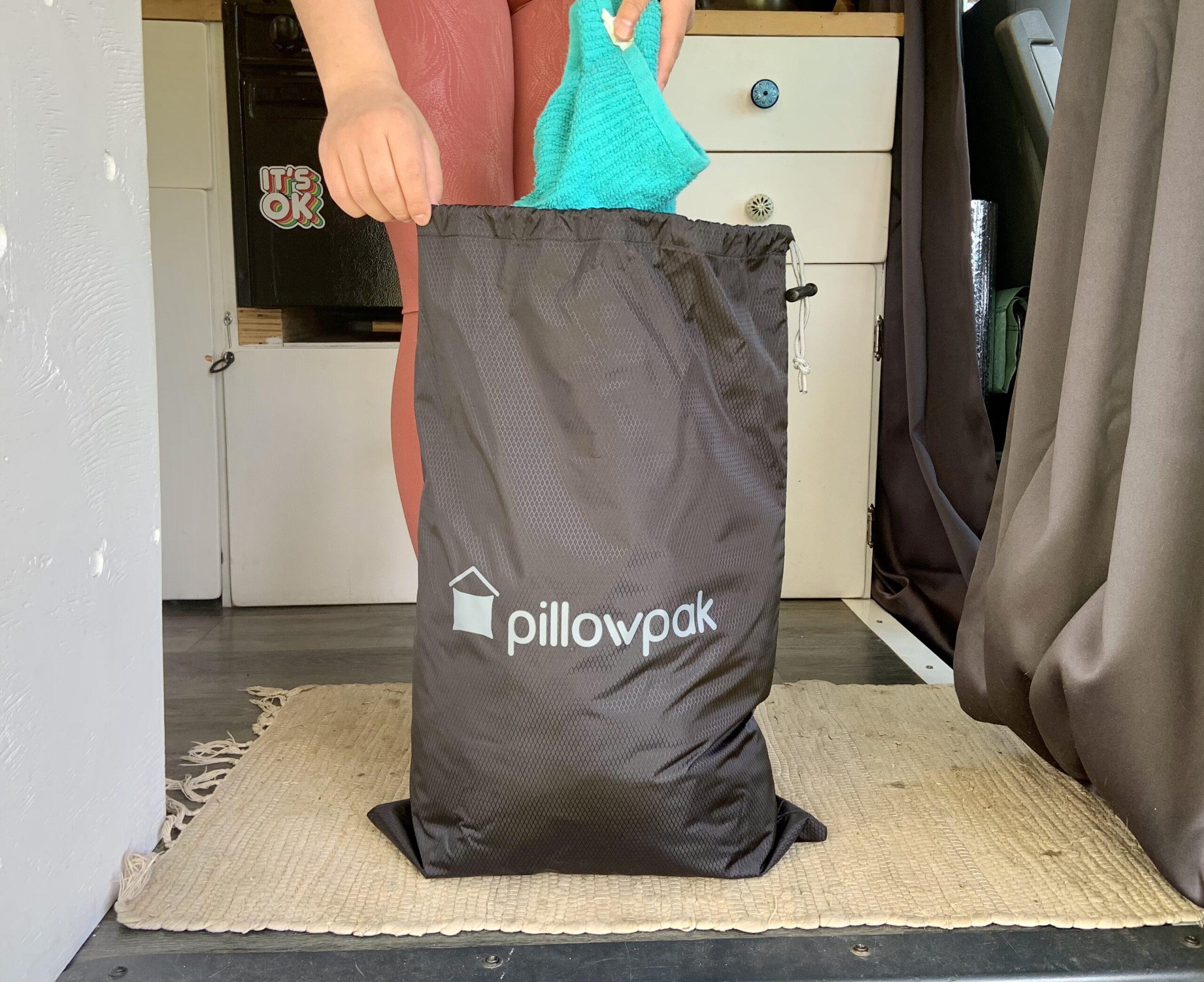 Pillowpak Utility Bag in Use